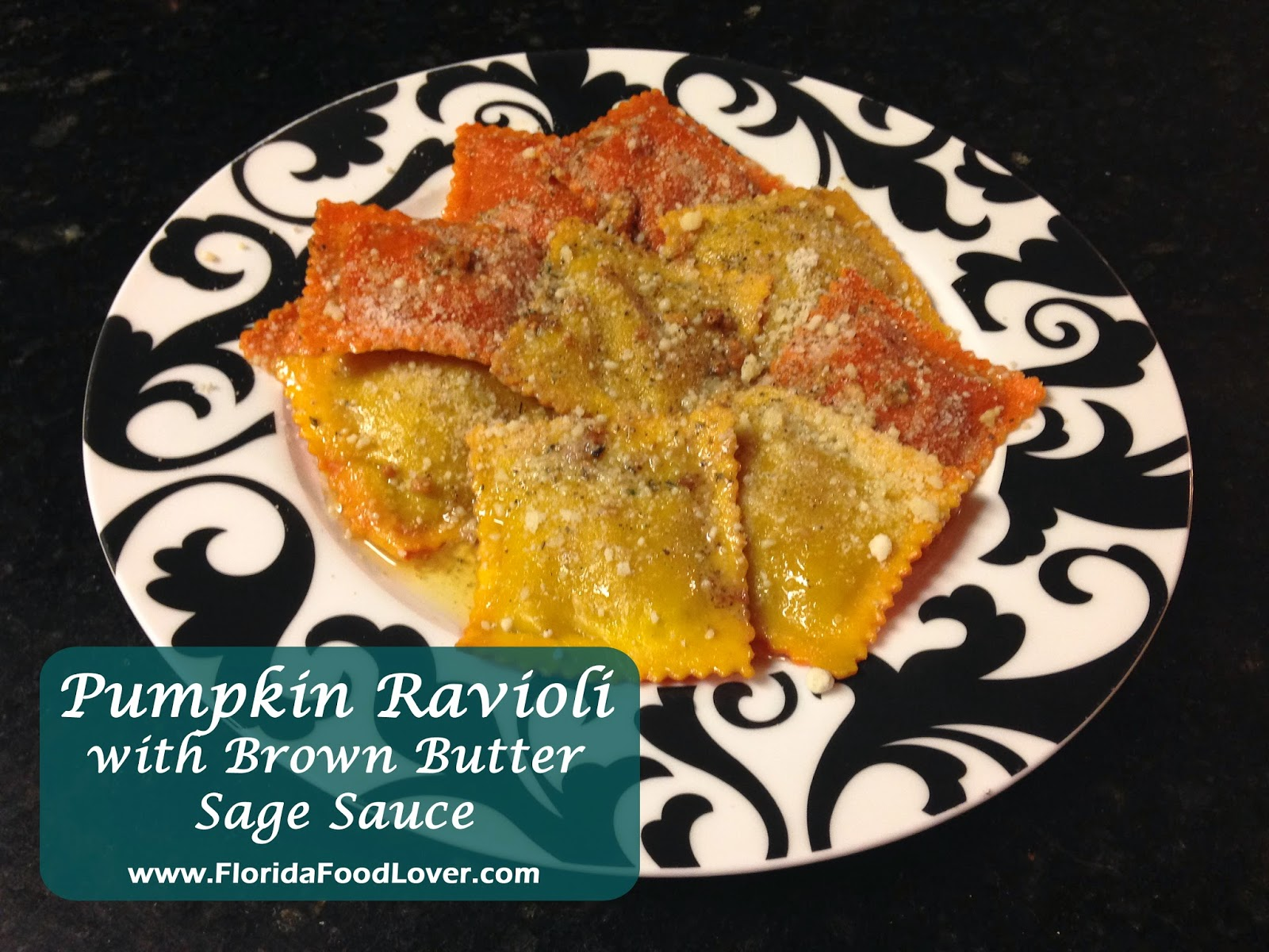 Pumpkin Ravioli with Brown Butter Sage Sauce | Florida Food Lover