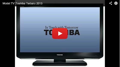 Model TV Toshiba