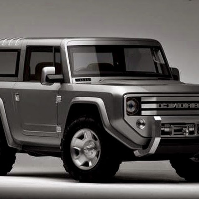 Free 2015 Ford Bronco Picture