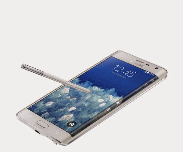 Samsung Galaxy Note Edge with Curved Display