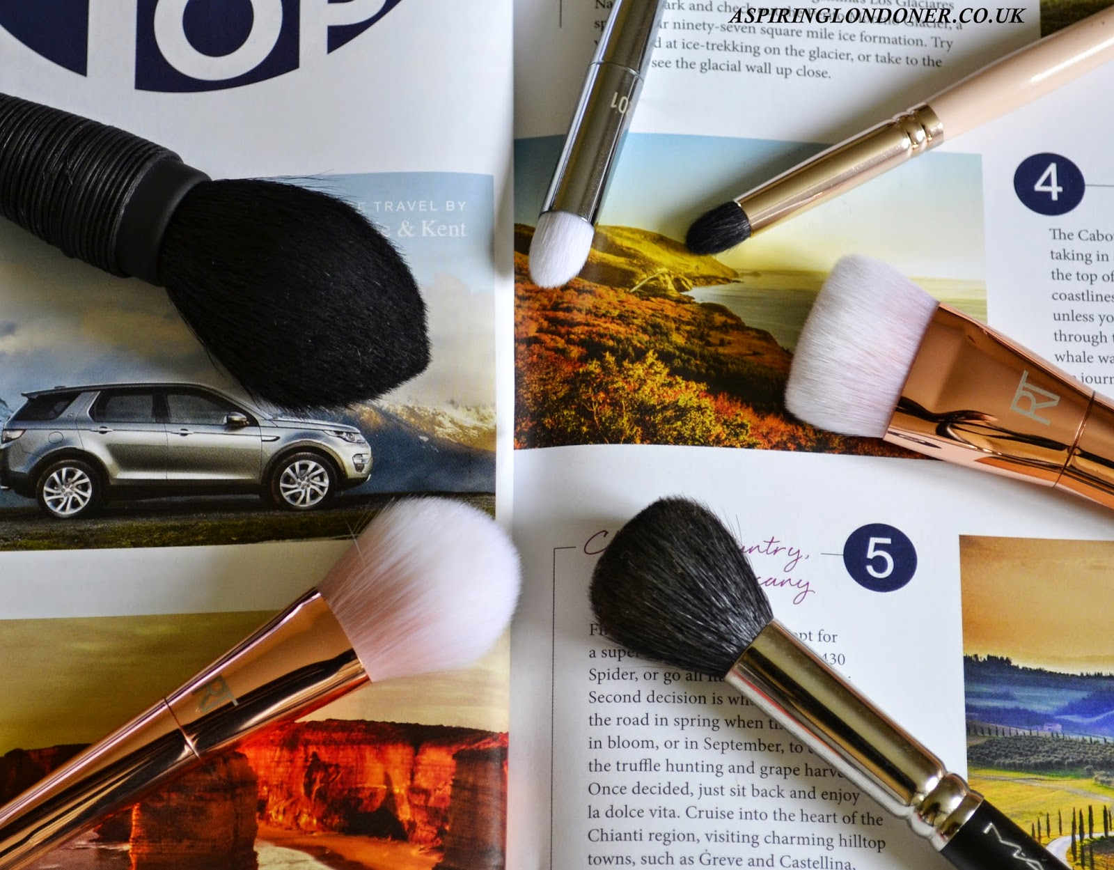 Real Techniques Bold Metals Brush Collection Review - Aspiring Londoner