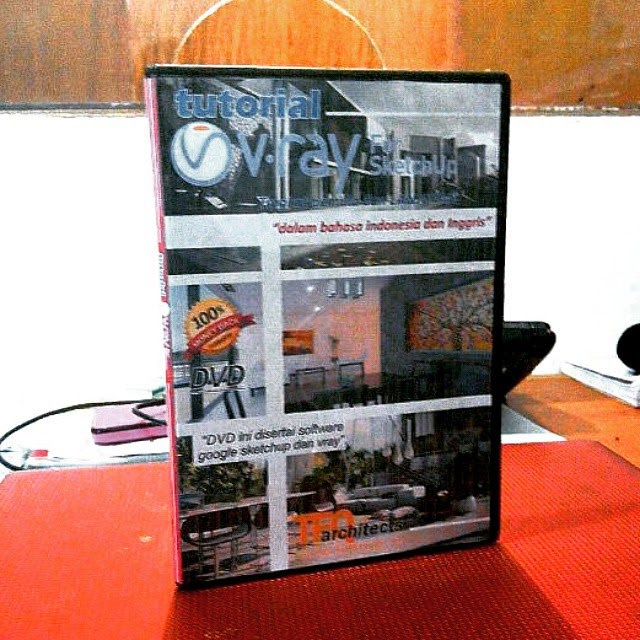 DVD Tutorial V Ray Sketchup Bahasa Indonesia