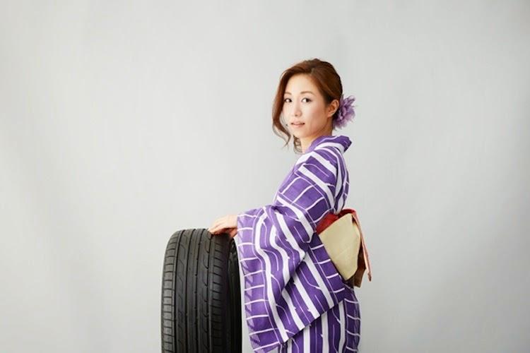 かなり本格的!トーヨータイヤが「タイヤ柄の浴衣」を公開
