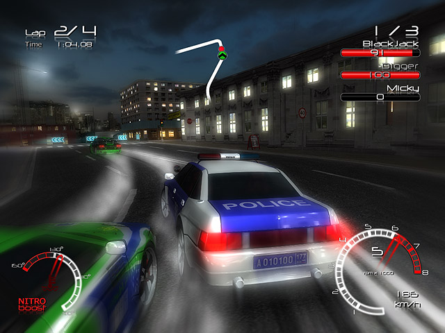 لعبة Racers vs Police