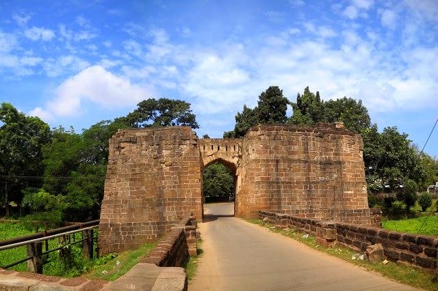 Entrance Gate of Barabati Fort