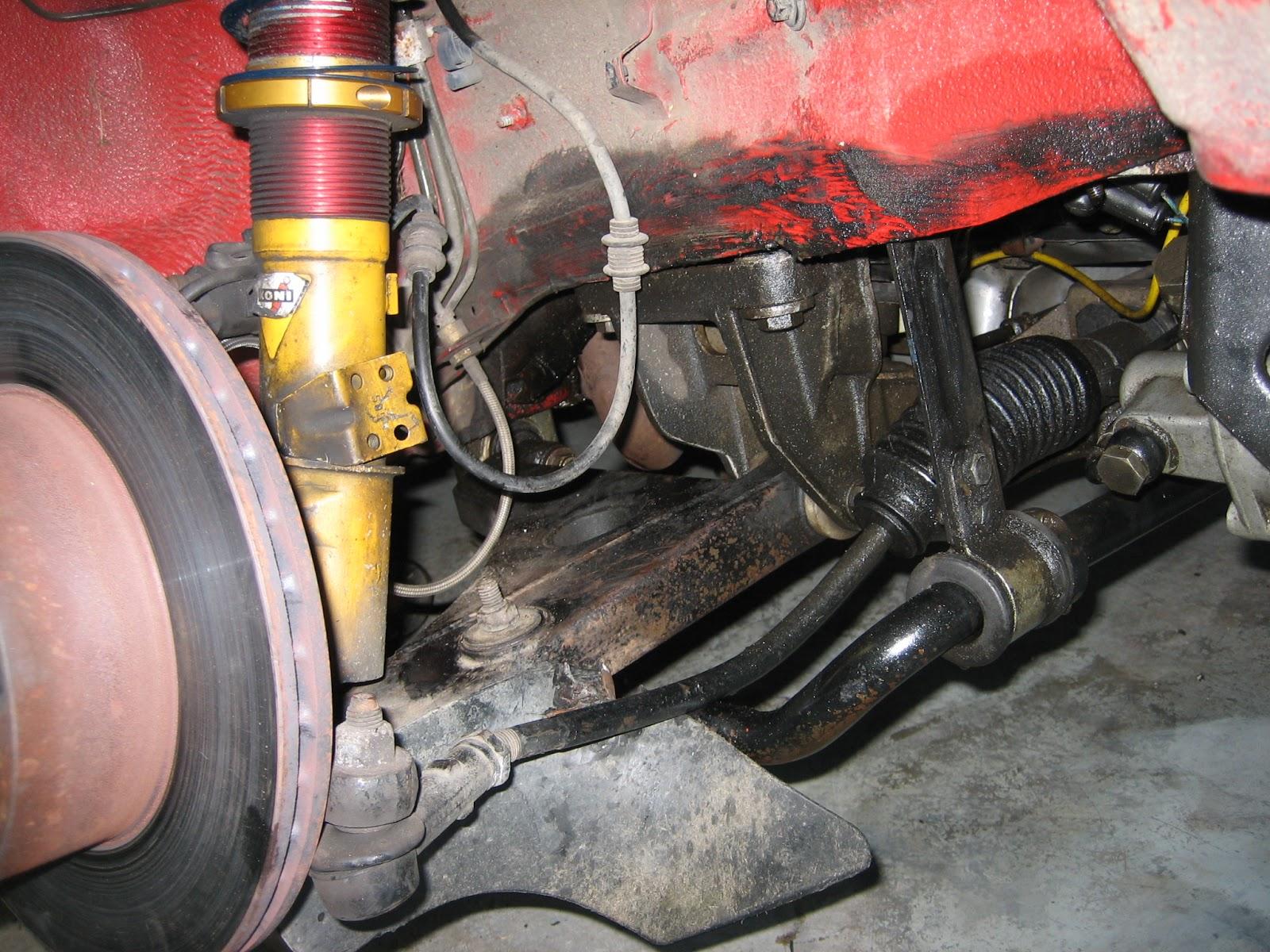 944 Racecar - Crash Repair 2006-2007 | the alpine garage