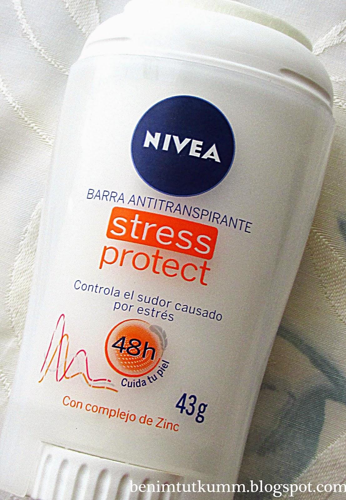 nivea stresli anlarda ekstra koruma