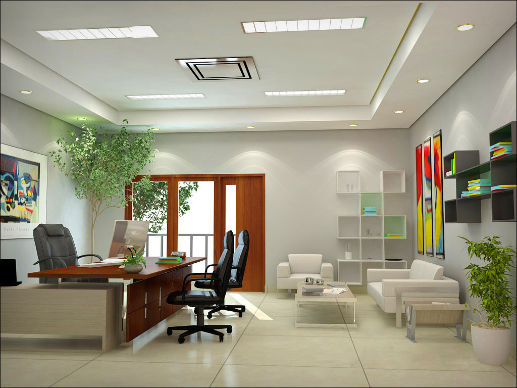 Office interior design ideas interior for Office interior ideas
