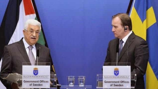 اعتراف السويد بفلسطين كدولة