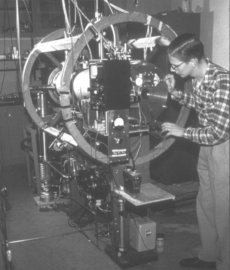 early atomic clock at NIST