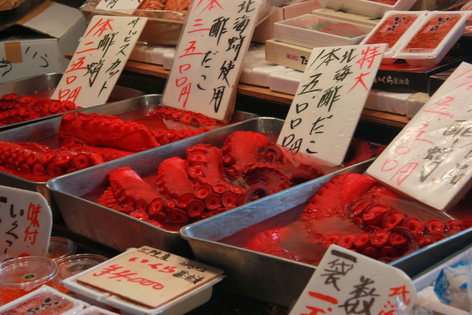 Seafood at Ameyoko
