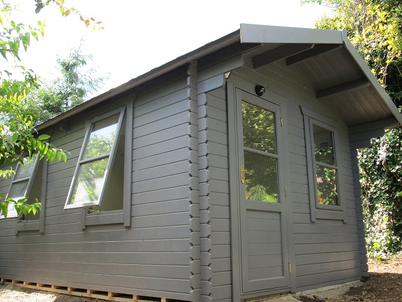 Southwick 39 S Garden Offices Latest Insulated Garden Log