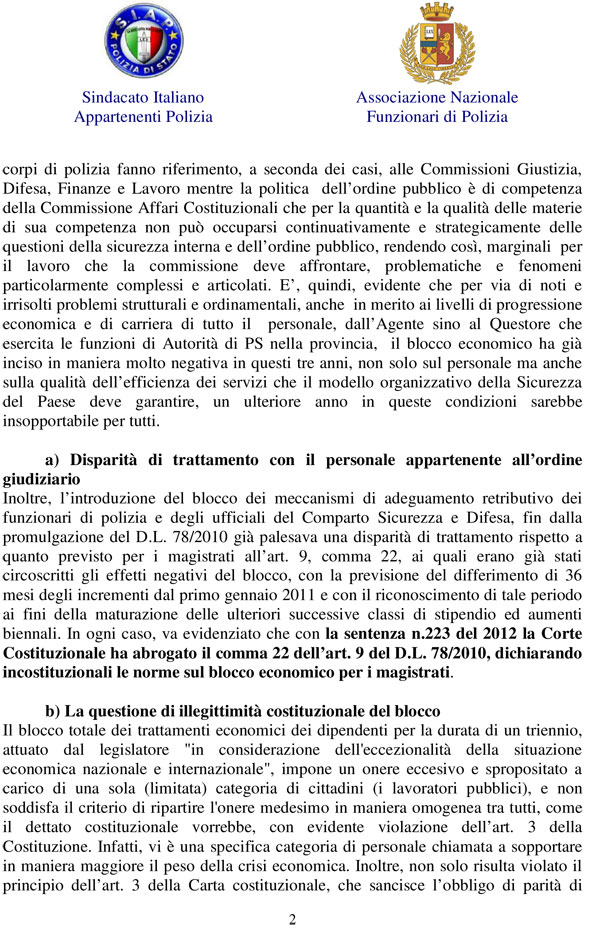 S i a p segreteria provinciale torino blocco contratto for Camera deputati telefono