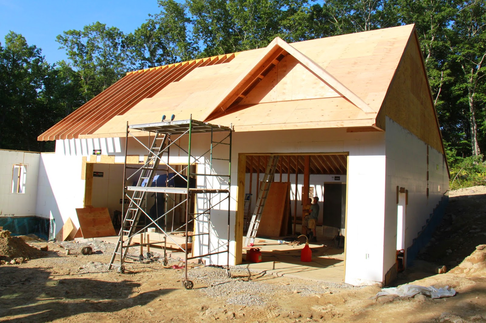 our new england energy star icf home build  september 2014