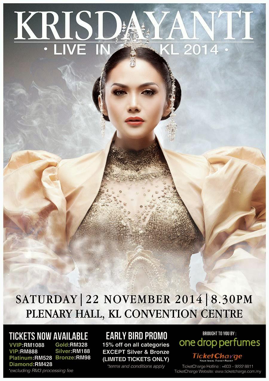 Poster Krisdayanti Live In KL 2014