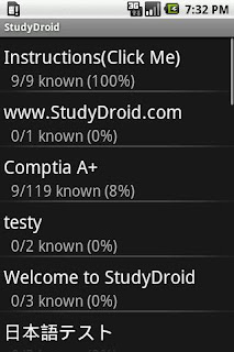 StudyDroid Flashcards 2.0-Free v3.3.0