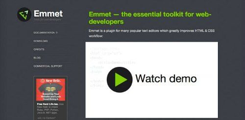 plugin emmet