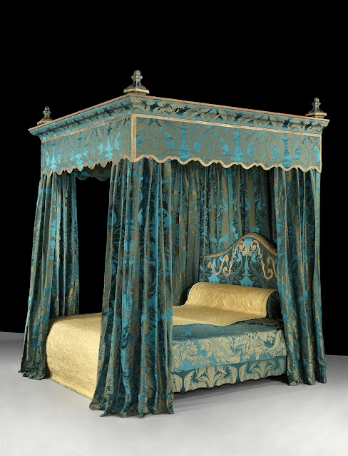 Upholstered Bed (19th Century)