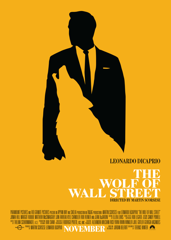 The Wolf of Wall Street poster 3 Movie Review: The Wolf of Wall Street