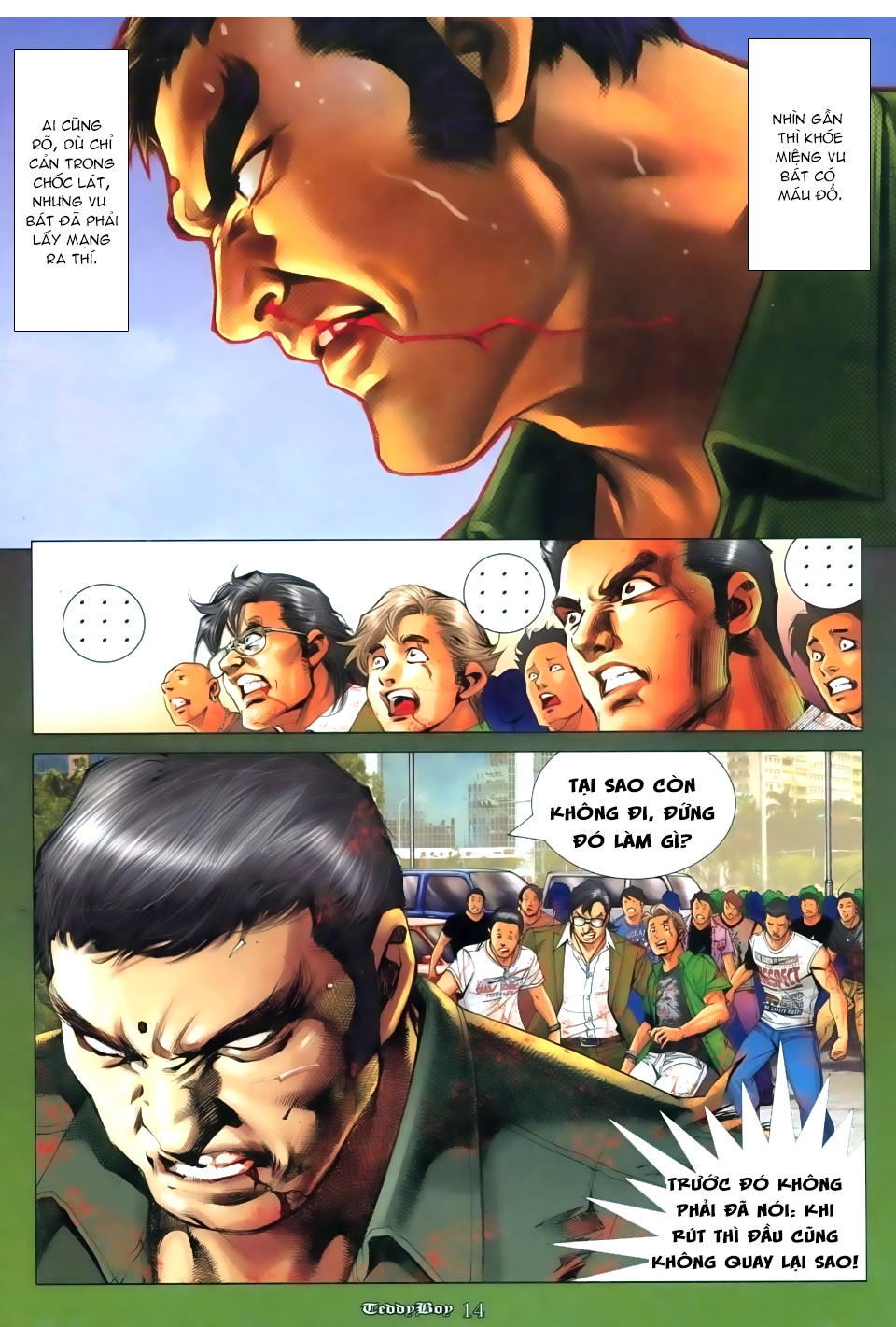 Người Trong Giang Hồ Chap 1111 - Truyen.Chap.VN