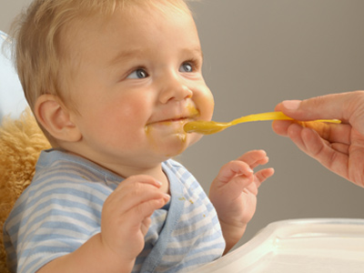 Baby Opens Mouth But Spits Out Food