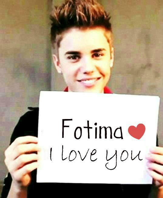 .: Make Justin Bieber to tell you i Love You