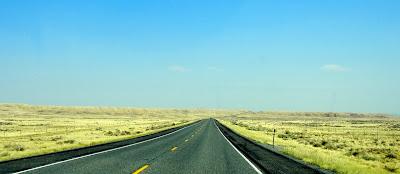 Views off of on highway 20 in Wyoming