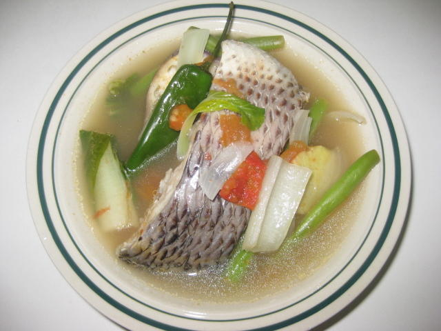 sinigang na tilapia sinigang na tilapia sour soup recipe ingredients