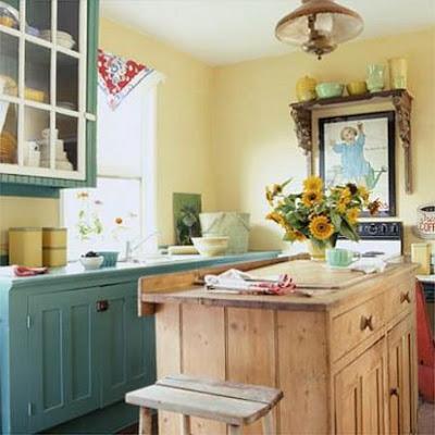 Habitaciones con paredes amarillas cocinas modernass - Cocinas amarillas ...
