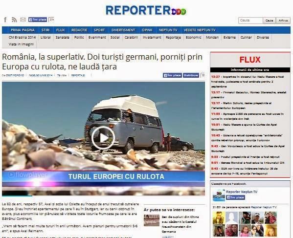 Reportage NTV Romania