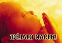 No al aborto..