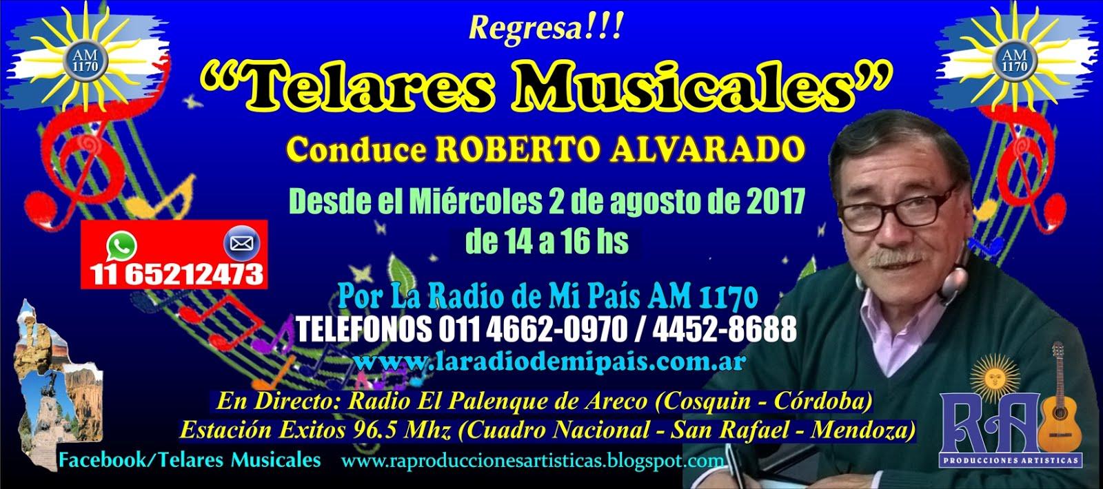 """""""TELARES MUSICALES"""" Conduce Roberto Alvarado"""