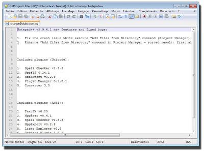 تحميل برنامج نوت باد Notepad