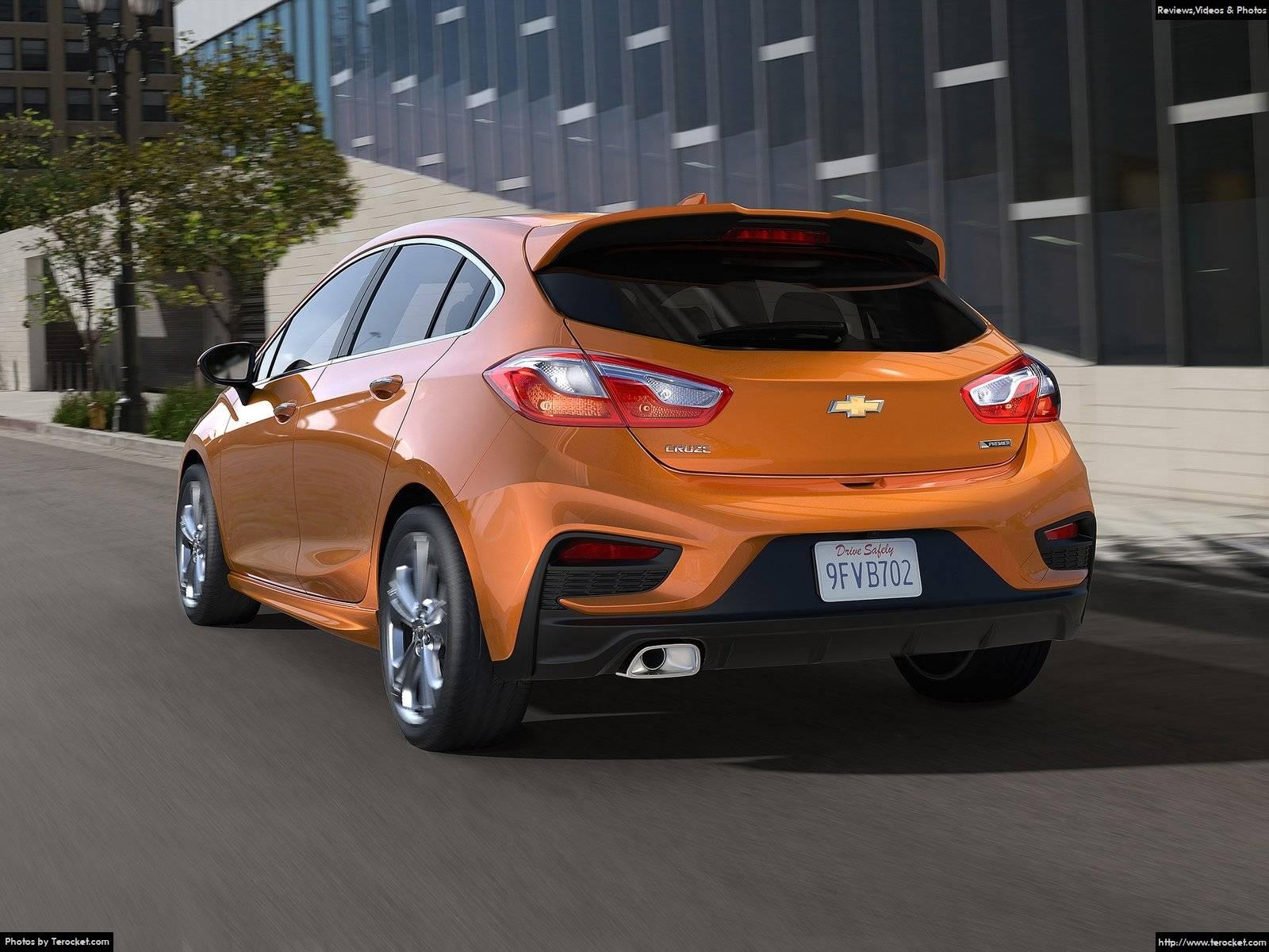 Hình ảnh xe ô tô Chevrolet Cruze Hatchback 2017 & nội ngoại thất