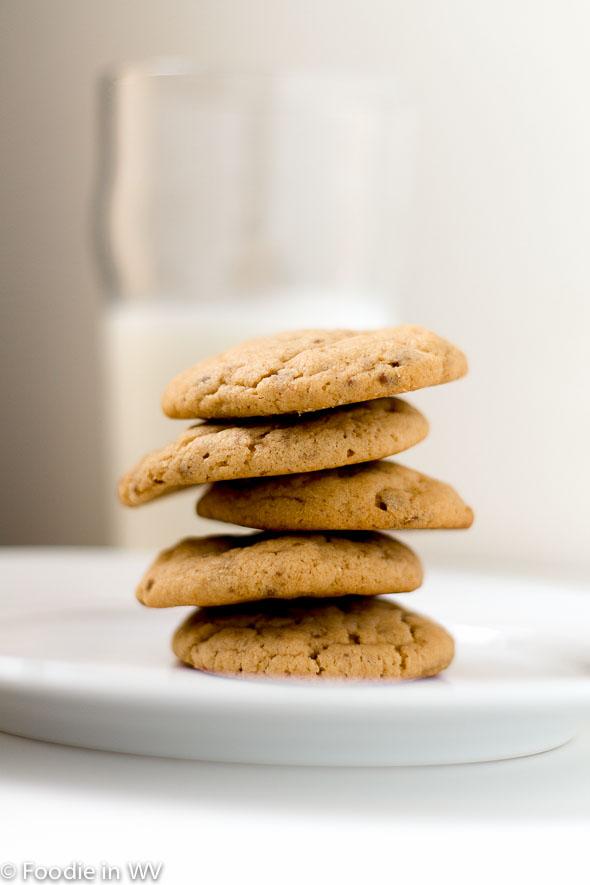 Toffee Peanut Butter Cookies | Foodie in WV