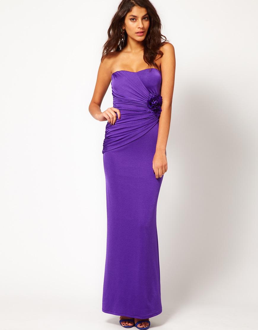 Vestidos para Ti: Vestidos Largos de fiesta color Violeta
