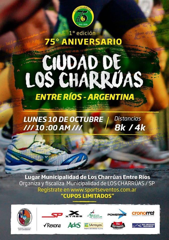 """1º edicion  75º aniv. """"Ciudad de los Charruas"""""""