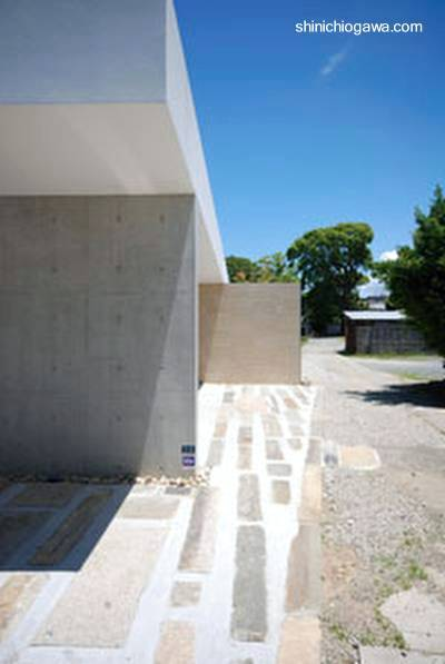 Arquitectura De Casas Casa Patio Minimalista Japonesa En