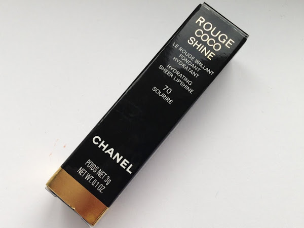 Chanel Rouge Coco Shine Lipstick 70 Sourire.