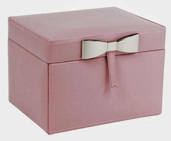 cutie de bijuterii, cu fundita