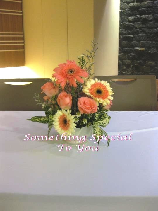 SOMETHING SPECIAL TO YOU Malaysia Wedding One Stop Shop Fresh Flower Arrangement