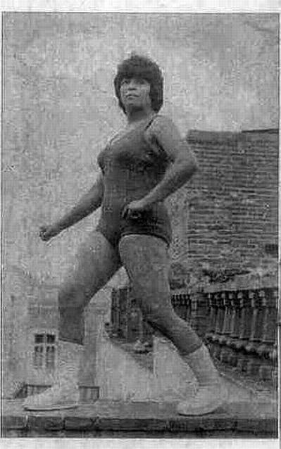 Estela Molina - Luchadoras Mexicanas