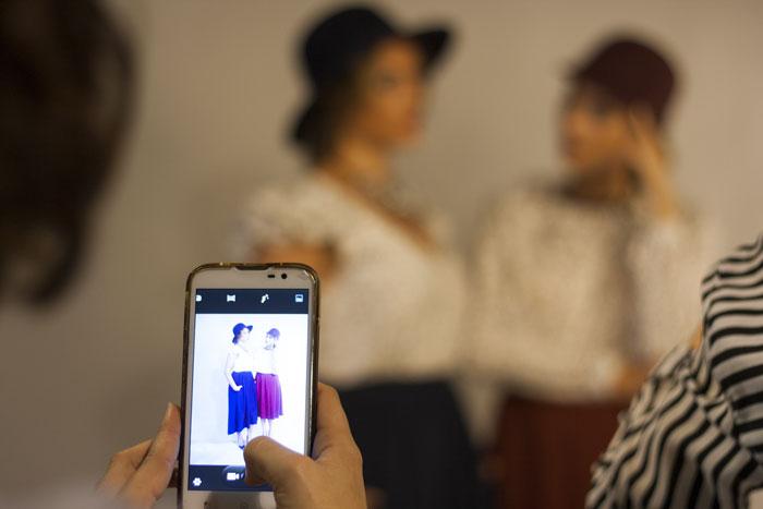 Making-of. Sesión de fotos nueva colección otoño - invierno 2015 La Bocoque