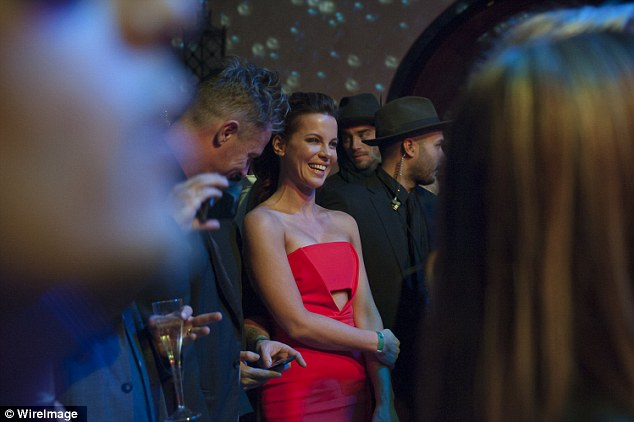 Actress, Model, @ Kate Beckinsale - New Year's Eve party in Hollywood