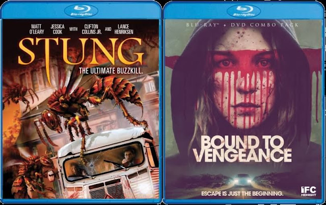 Stung and Bound to Vengeance - Coming to Blu-ray from Scream Factory