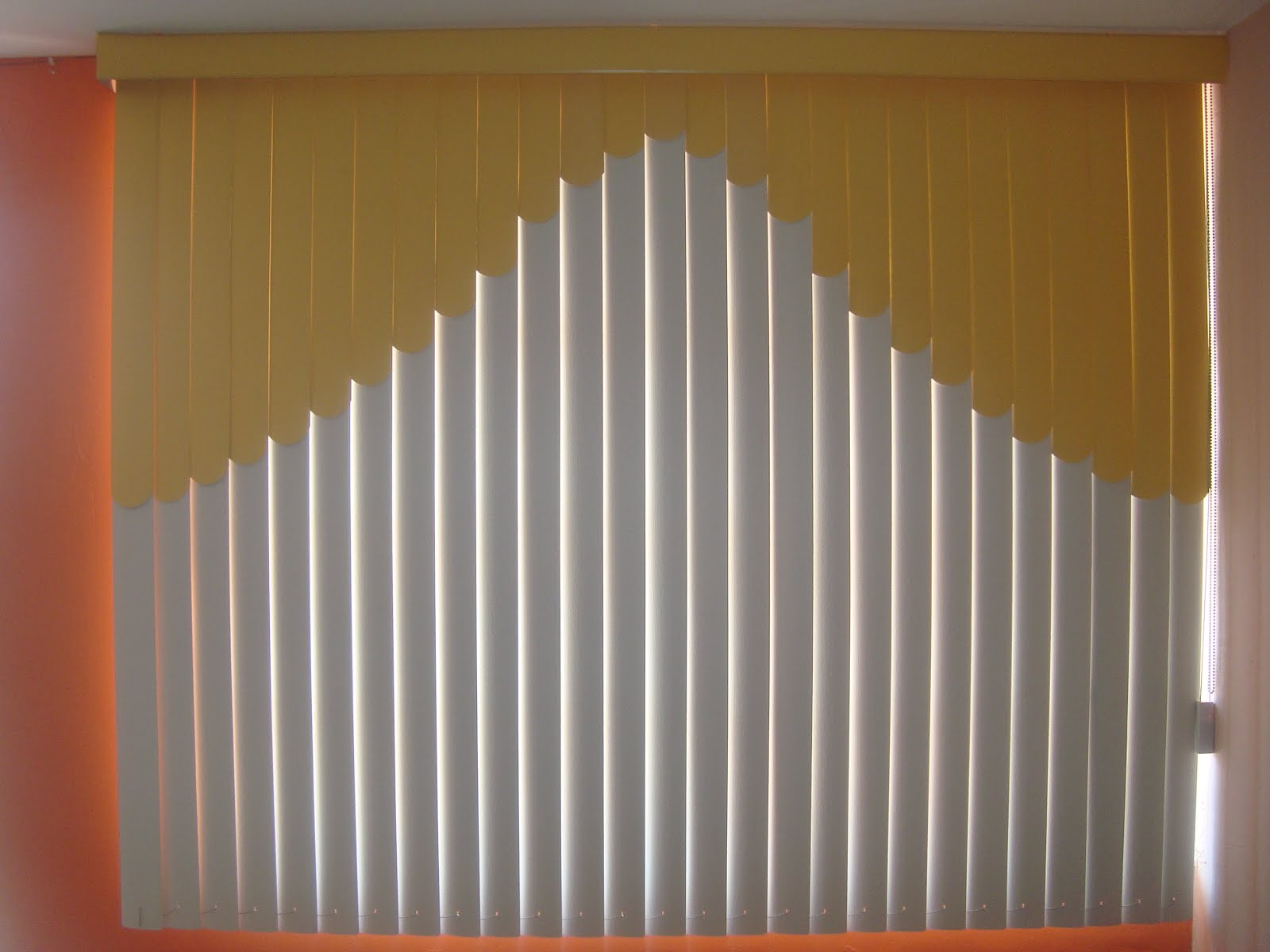 Persiana vertical - Persianas de tela ...