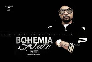 Bohemia - Salute Lyrics 2015