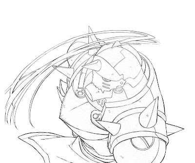 Alphonse Elric Coloring Pages