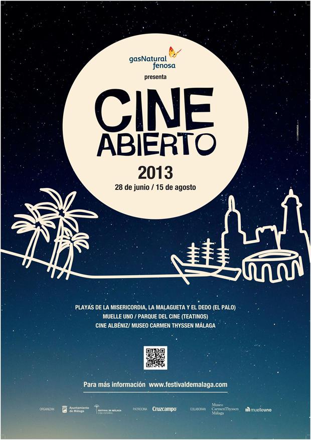 Cine Abierto 2013 Málaga