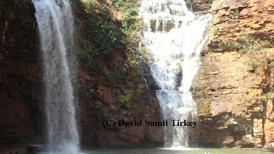 Tirathgarh waterfall bottom